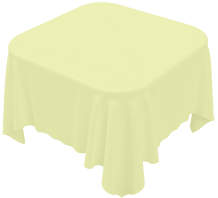 Ivory Square Tablecloth Bermondsey Table Cloth Hire London