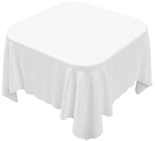 Ordinaire Our Signature White Square Tablecloth